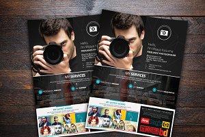 Freelance Photographer Flyer Templat
