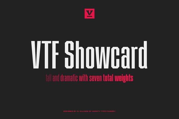 VTF Showcard