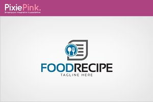Food Recipe Logo Template