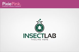 Insect Lab Logo Template