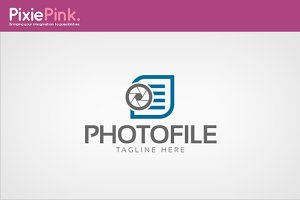 Photo File Logo Template
