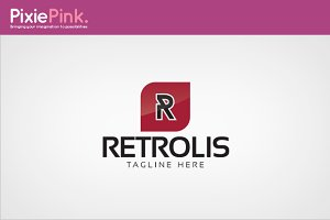 Retrolis Logo Template