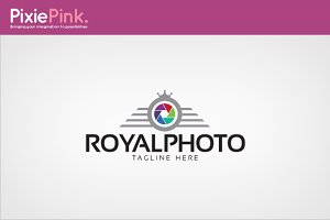 Royal Photo Logo Template