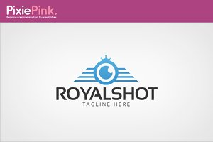 Royal Shot Logo Template
