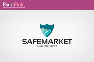 Safe Market Logo Template