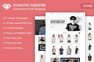 Fashion- eCommerce PSD Template