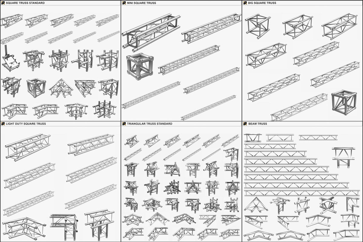 Lighting Truss Giant Collection