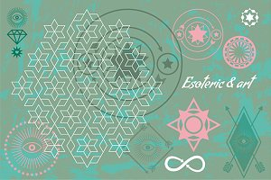 Esoteric&Art elements