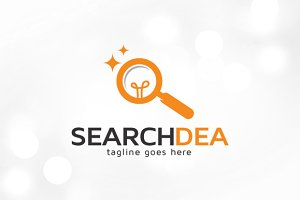 Search Idea Logo Template