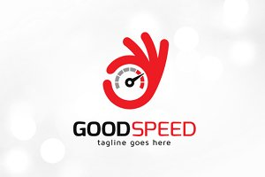 Good Speed Logo Template