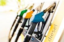 Fuel pump at Petrol Station