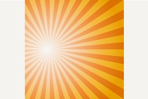 Sun Sunburst Pattern. Vector illustr