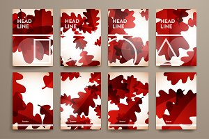 Autumn and geometric style templates