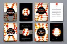 Brochures in DNA style