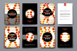 Brochures in DNA style