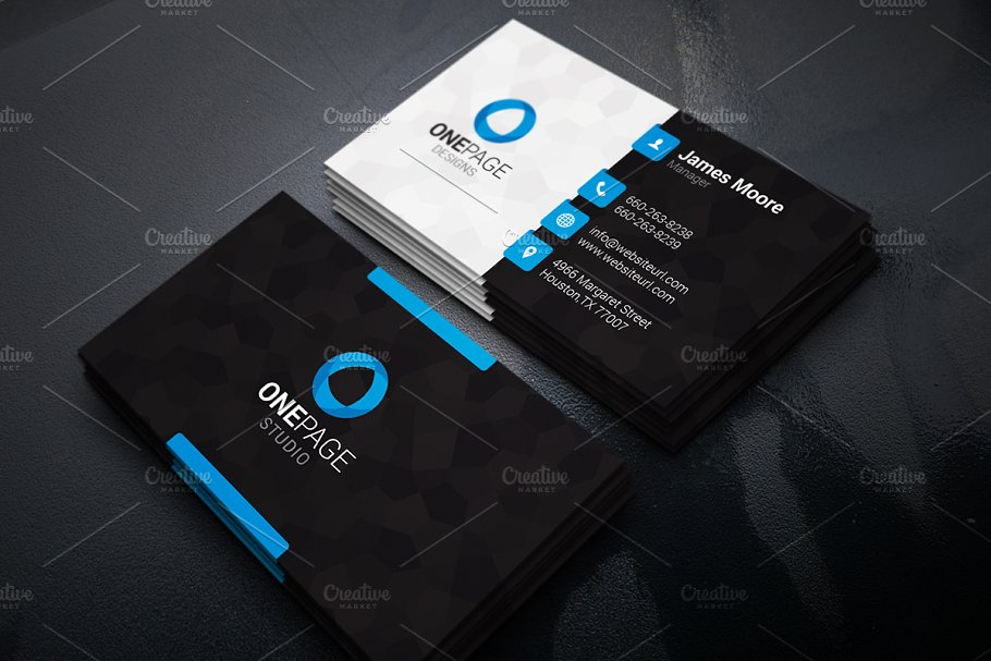 Creative Business Card Business Card Templates Creative Market Pro - Cool business cards templates