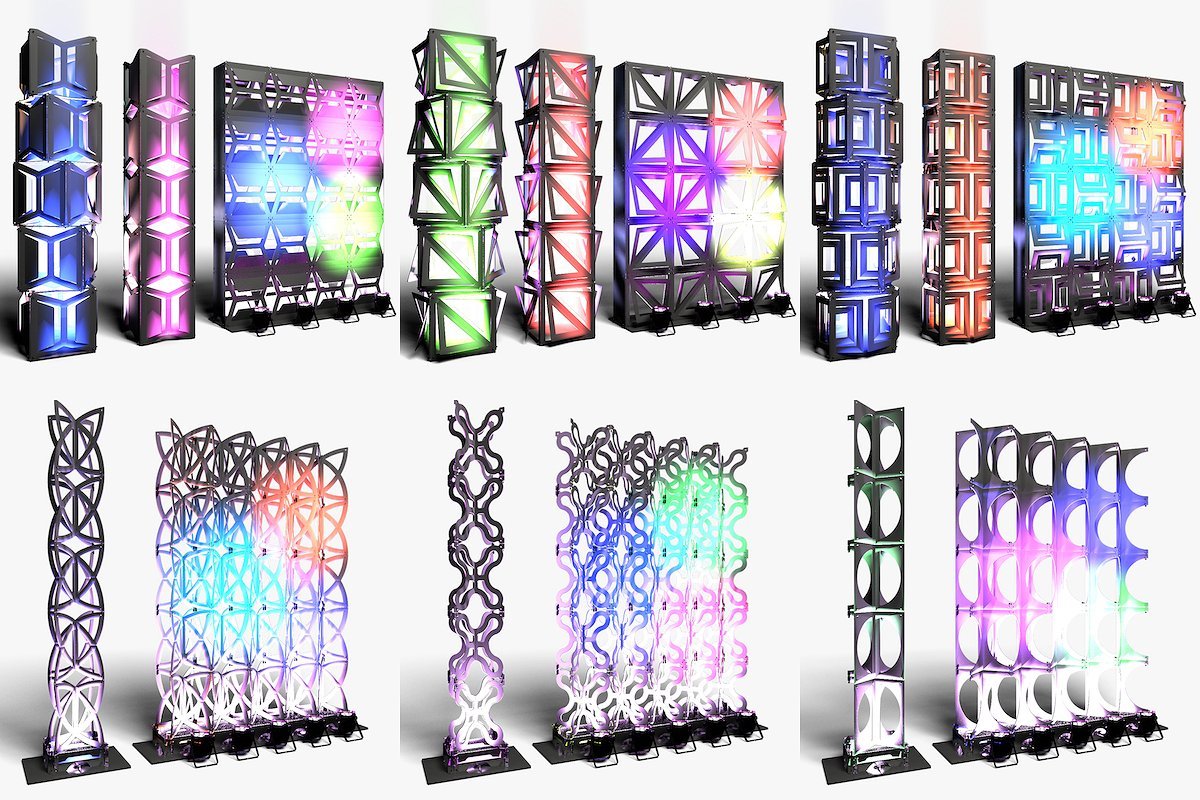 Stage Decor Collection 3 (9 Modular)