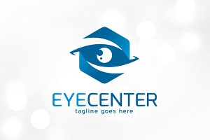 Eye Center Logo Template