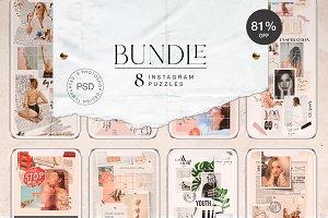 BUNDLE - 8 Instagram Puzzles