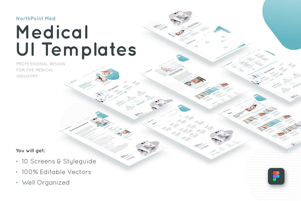 Medical Figma UI Templates