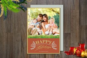 Holiday Photo Card