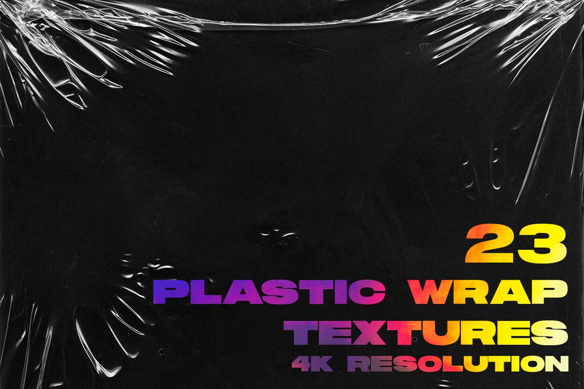 4K Plastic Wrap Textures Volume 2 in Textures - product preview 7