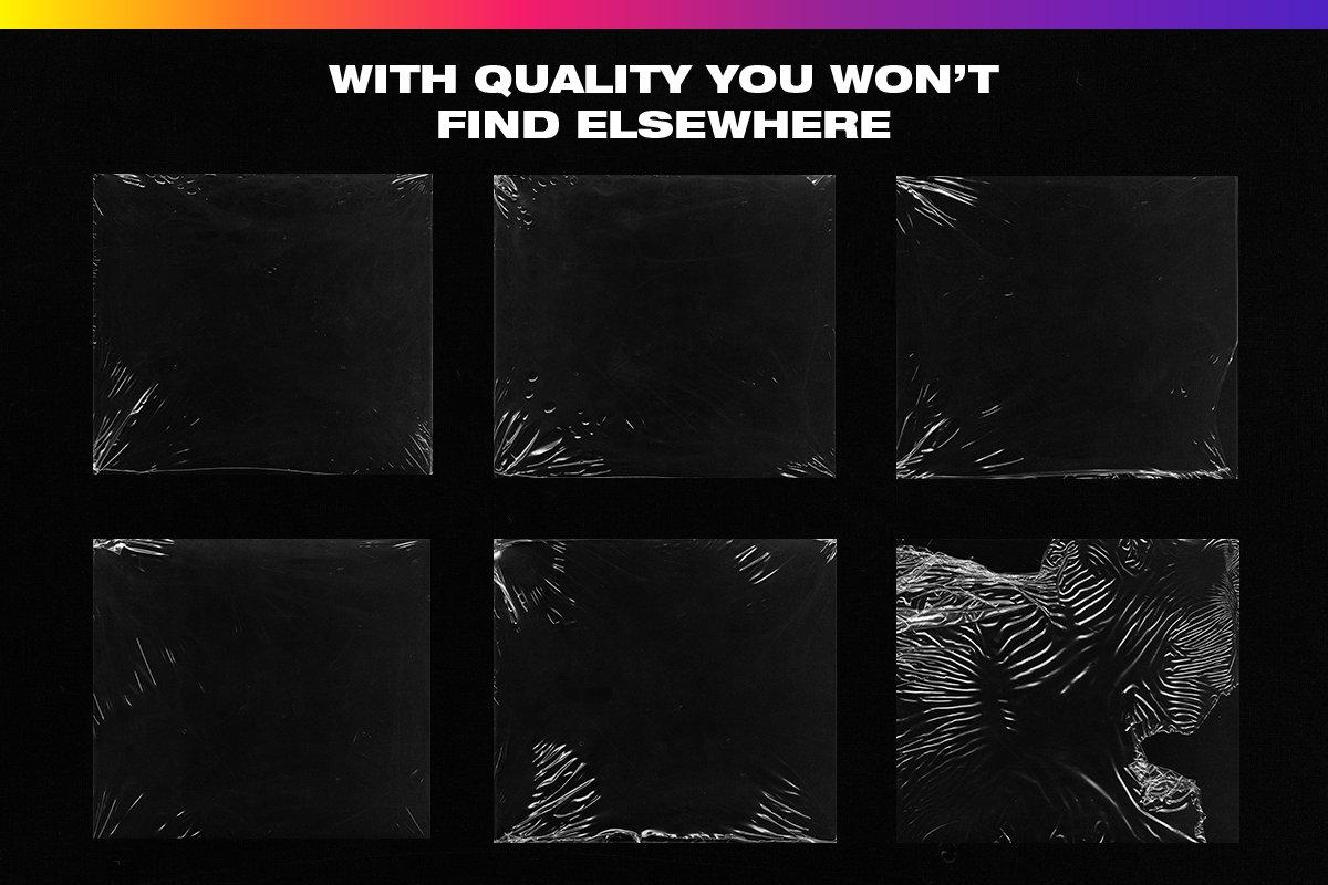 4K Plastic Wrap Textures Volume 2