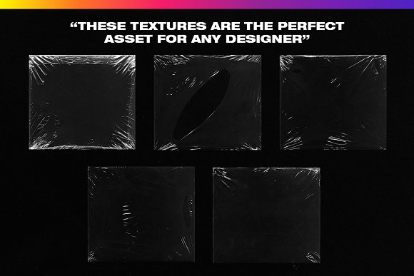4K Plastic Wrap Textures Volume 2 in Textures - product preview 4