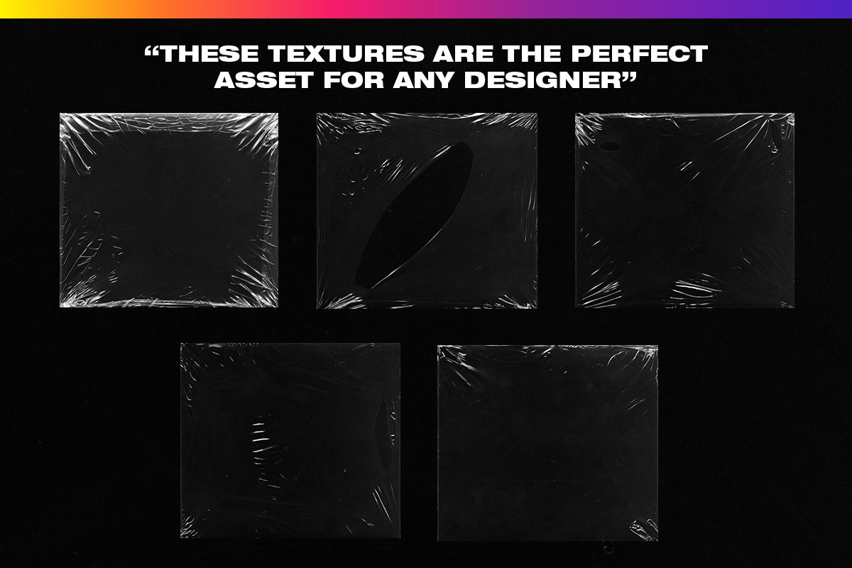 4K Plastic Wrap Textures Volume 2 in Textures - product preview 3