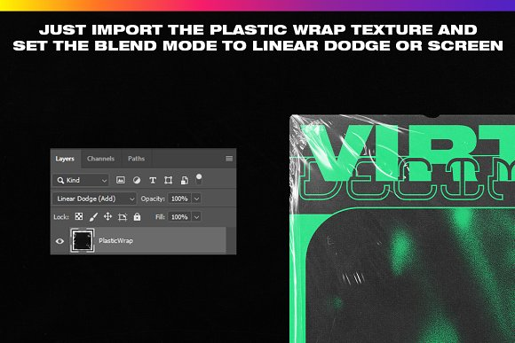 4K Plastic Wrap Textures Volume 2 in Textures - product preview 5