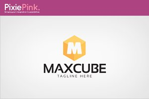 Max Cube Logo Template