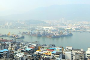 Macao port district