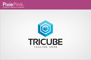 Tricube Logo Template