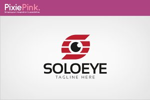 Solo Eye Logo Template