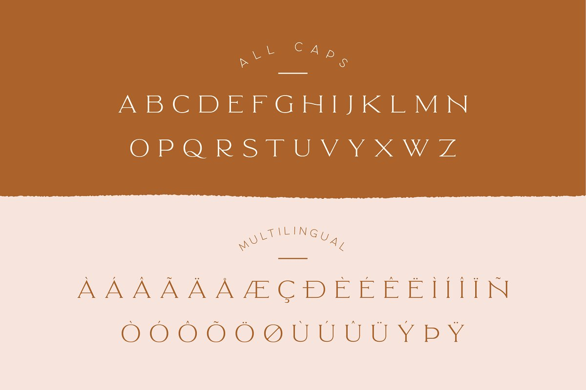 Elegant Karin - Stylish Typeface in Serif Fonts - product preview 8