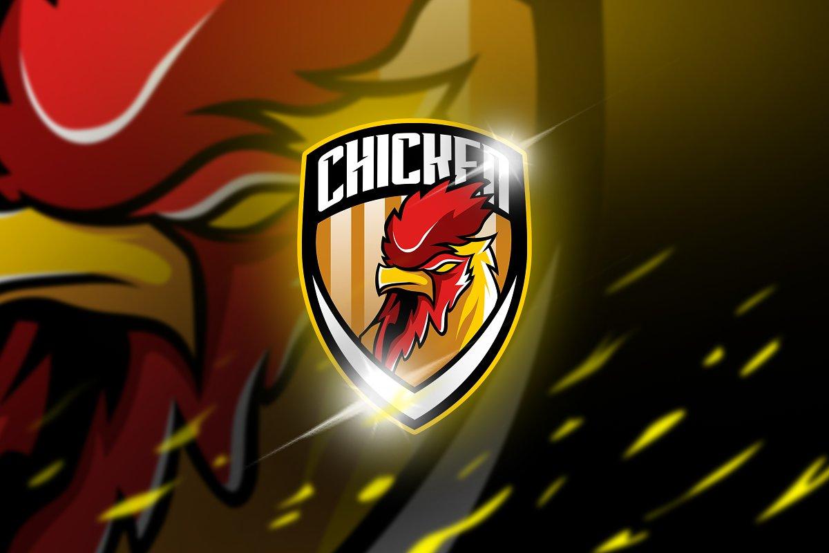 Chicken - maskot & logo esport