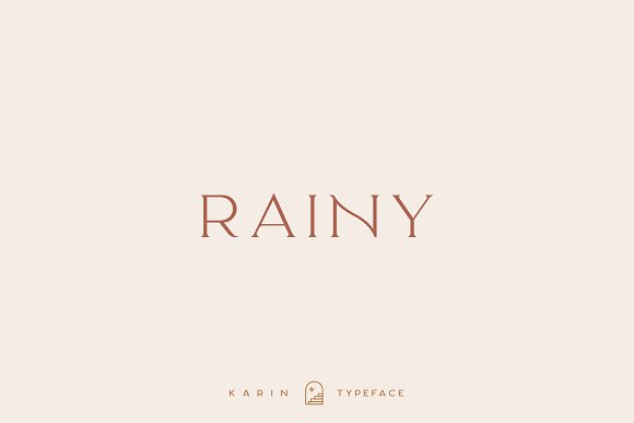Elegant Karin - Stylish Typeface in Serif Fonts - product preview 5