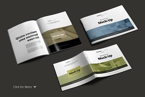 Brochure Mock-Up Bundle