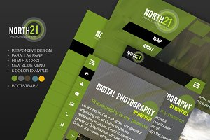 North21 - One Page Responsive