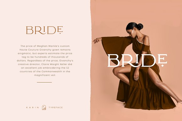 Elegant Karin - Stylish Typeface in Serif Fonts - product preview 9