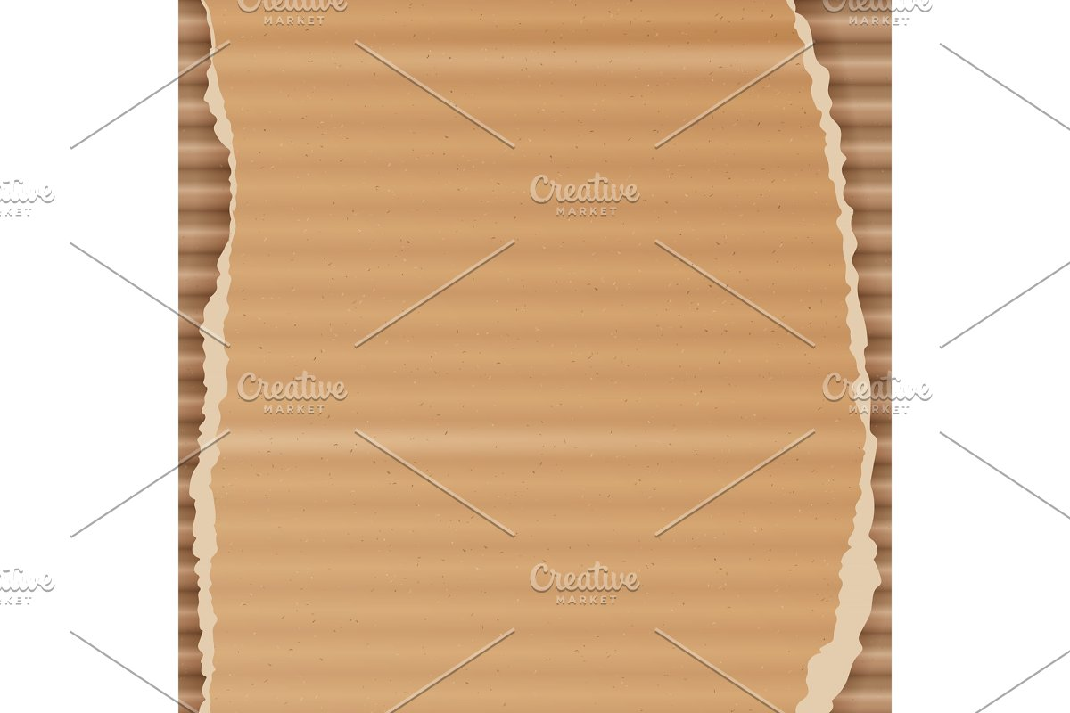 Corrugated Cardboard Vector in Textures - product preview 8