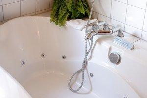 Bathtub at home