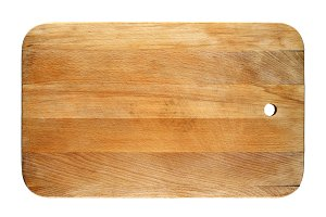 Old chopping board