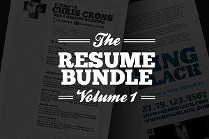 Resume Bundle Vol 1