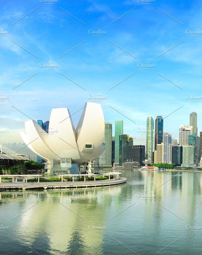 Artsience museum view. Singapore - Architecture