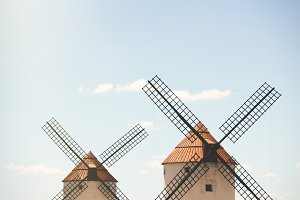 Windmills of Castilla La Mancha