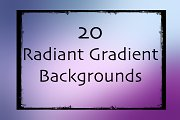 20 Radiant Gradient Backgrounds