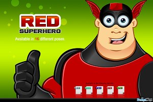 Red Superhero