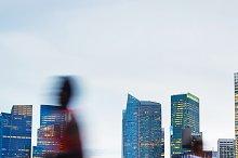 People jogging, Singapore