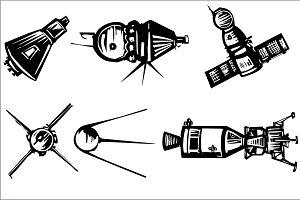 Historical Spaceships